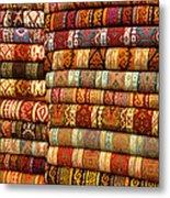 Rugs Kilims Carpets Grand Bazaar Istanbul Turkey Metal Print