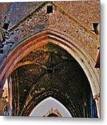 Ruined Church Ireland Metal Print