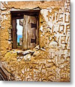 Ruined Wall Metal Print