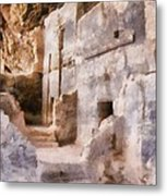 Ruins Metal Print by Michelle Calkins