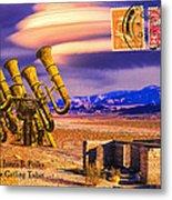 Ruins Of Fort James B. Polka And Prototype Gatling Tubas Metal Print