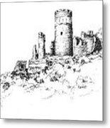 Ruins Of Furstenburg Castle Metal Print