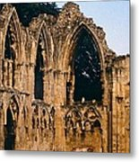 Ruins Of St. Mary's Abbey Metal Print