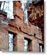 Ruins Of Sweetwater Manufacturing Company Metal Print