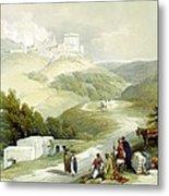 Ruins Of The Church Of St. John Sabaste 1839 Metal Print