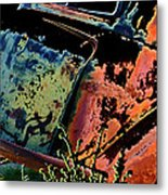 Rumble Seat Metal Print