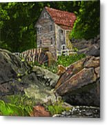 Run Of The Mill Metal Print by Leo Gehrtz
