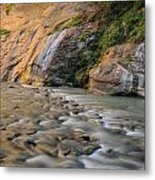 Run To The River Metal Print