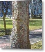 Runestone Metal Print