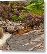 Running From Heather Metal Print