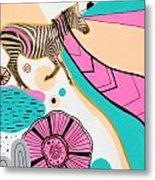 Running High Metal Print by Susan Claire