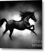 Running Horse Metal Print by Robert Foster