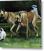 Running With The Big Boys Metal Print