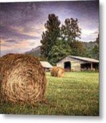 Rural American Farm Metal Print
