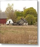 Rural Backstory Metal Print