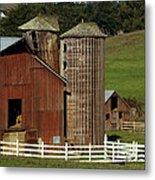 Rural Barn Metal Print