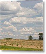 Rural Field Landscape In Maryland Metal Print