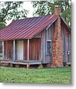 Rural Georgia Cabin Metal Print
