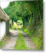 Rural Road Metal Print