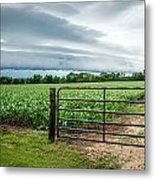 Rural Storms Metal Print