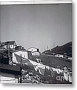 Rural Washday 1969 - Nostalgic Memories Metal Print