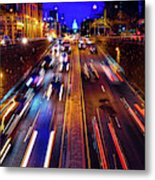 Rush Hour Traffic On North Capitol Show Metal Print