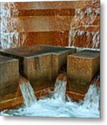 Rushing Water Metal Print