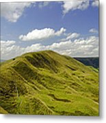 Rushup Edge From Mam Tor Metal Print