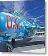 Russian Aircraft Mig At Interpid Museum Metal Print