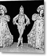 Russian Claudia Ballet Dancers Metal Print by Underwood Archives