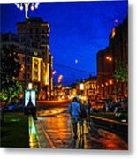 Russian Evening Metal Print