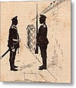 Russian Soldiers Metal Print