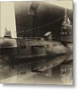 Russian Submarine Heirloom 01 Metal Print