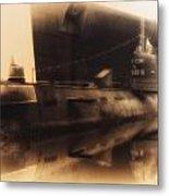 Russian Submarine Heirloom 02 Metal Print