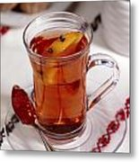 Russian Tea Metal Print