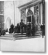 Russians Pray For Wwi Victory Metal Print