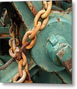 Rust And Decay Metal Print