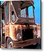Rust And Mail Metal Print