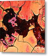 Rust And Paint - 519 Metal Print