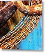 Rust Art  Metal Print by Natalya Karavay