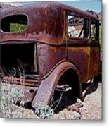 Rust Bucket Metal Print