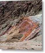 Rust Colored Formation Metal Print
