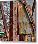 Rust Metal Print by MJ Olsen