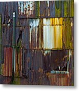 Rust Rainbow Metal Print by Sarah Crites