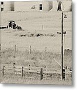Rust Wind And Time Are Not Kind Metal Print