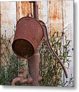 Rusted And Out Of Use Metal Print