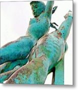 Rusted Beauty Metal Print