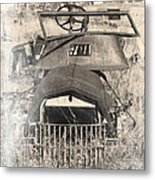 Rusted Flatbed Metal Print