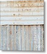 Rusted Metal Background Metal Print