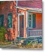 Rusted Tin Roof Metal Print